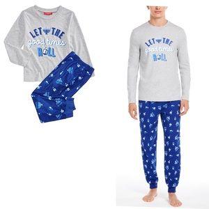 Family Matching Men's Hanukkah Pajama Set NWT